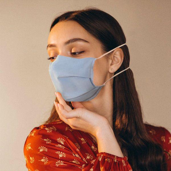 Mascherine per Coronavirus personalizzabili, in tessuto lavabile