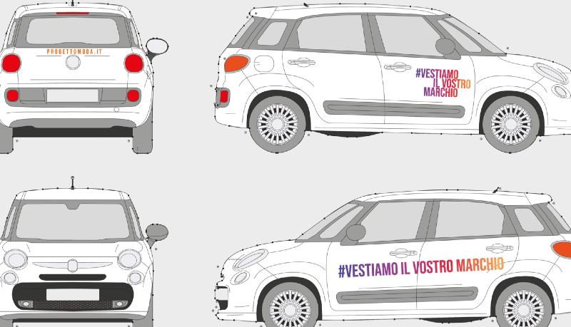 Car wrapping: personalizzazione veicoli