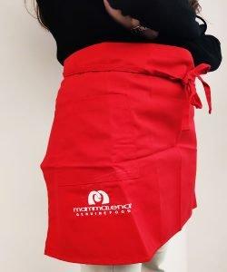 Grembiule personalizzato con tasca