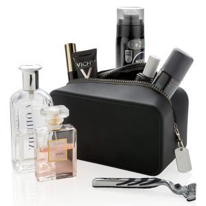 Beauty case impermeabile nero