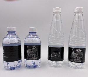 Bottigliette di acqua personalizzate in diversi formati